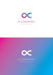 A company logo teamplate.