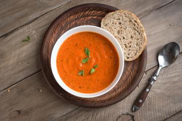 Fotobehang - Tomato soup