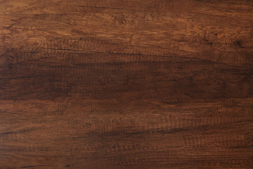 Dark brown wood texture background
