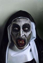 frightening evil nun
