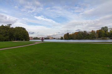 Autumn Park, Yelagin Island, St. Petersburg, Russia