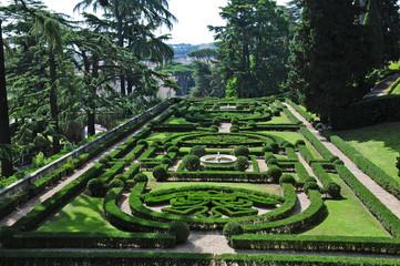 Roma, Città del Vaticano i giardini vaticani