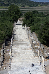 Ephesus ancient city in Izmir, Turkey