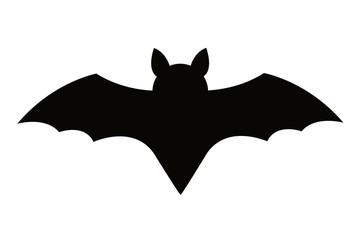 Bat silhouette symbol
