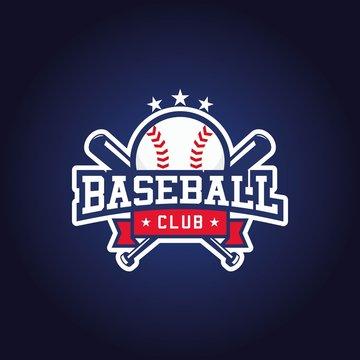 Baseball club logo design