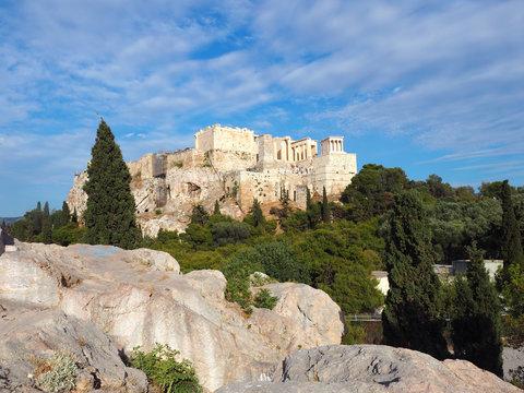 Athen - Ausblick auf die Akropolis