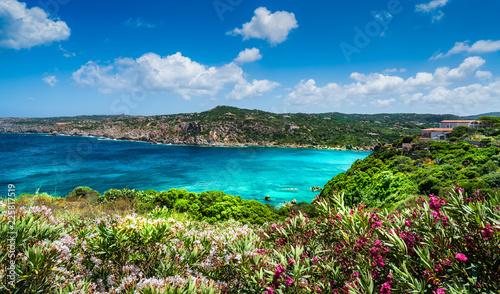 Wall mural Landscape with sea and coast of Santa Teresa di Gallura in north Sardinia island, Italy