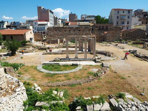 Griechenland - antike Sehenswürdigkeit in Athen