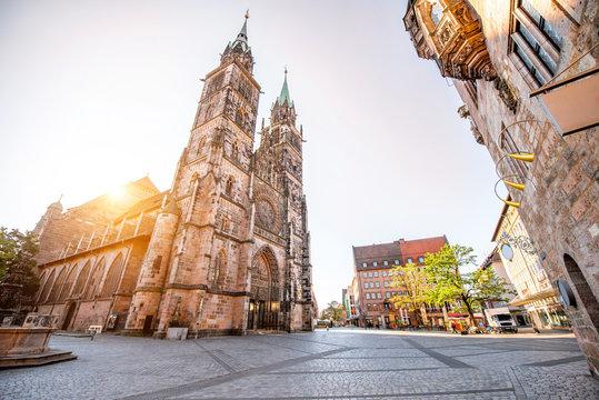 Cathedral in Nurnberg, Germany