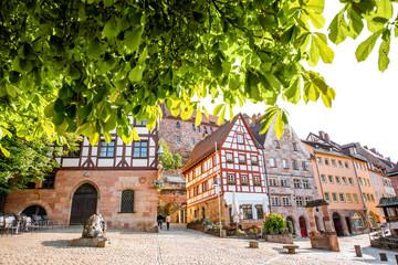 Old town of Nurnberg city, Germany