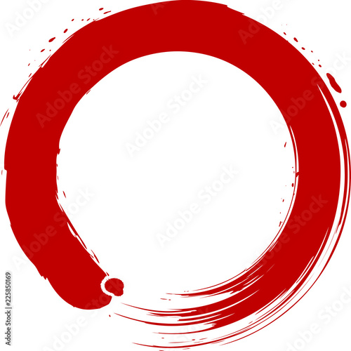 丸 円 赤 手書き 筆文字fotoliacom の ストック画像とロイヤリティ