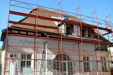 Umbau von Haus, Renovierung
