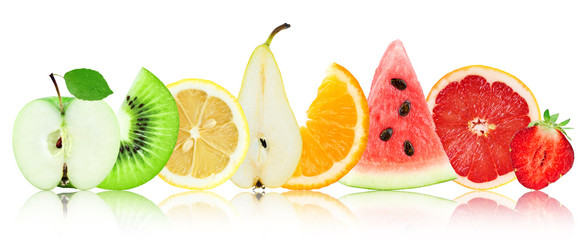 Fresh mixed fruits