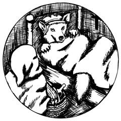 Rotkäppchen Icon