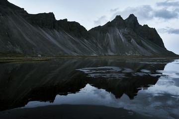 Island Stokksnes wilde Pferde