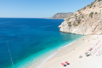 beach of Kaputas, Lyric Coast of Turkey
