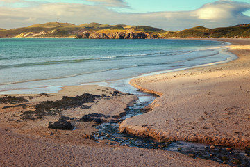 Balnakeil beach near Durness in Sutherland at the far north west of Scotland, Highlands