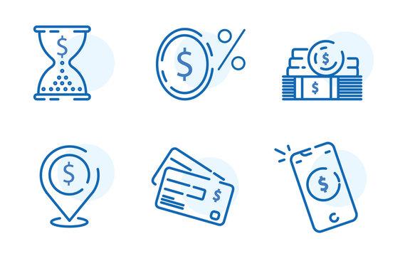 Payment methods, financial items set, zero percent commission fee, credit card money transaction, payment installment
