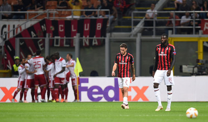 Europa League - Group Stage - Group F - AC Milan v Olympiacos