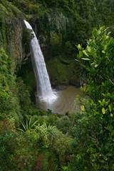 Waterfall. New Zealand