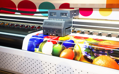 Wide-format inkjet printer Wall mural