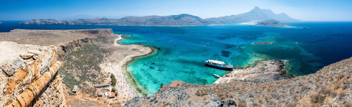 Crète - Panorama de Gramvousa