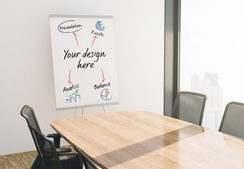 Presentation Paper Board Mockup