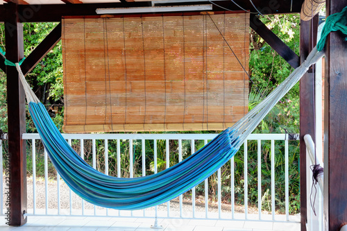 Hamac Sur Une Terrasse En Guadeloupe Stock Photo And Royalty Free