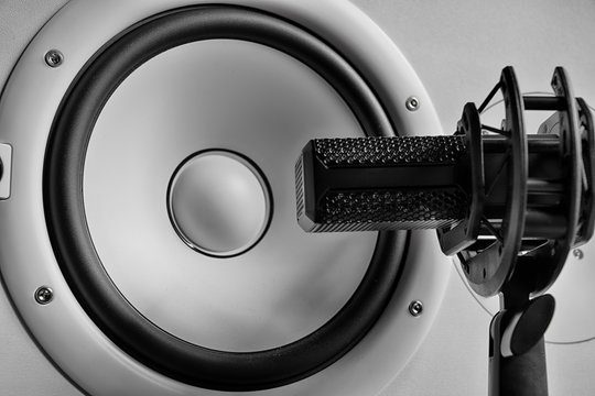 """Take Five"" monochrome speaker and microphone"