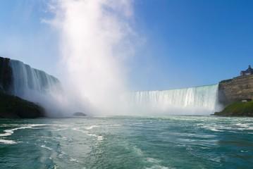 Horseshoe Falls, Niagara, Canada, USA.