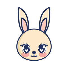 cute rabbit adorable character