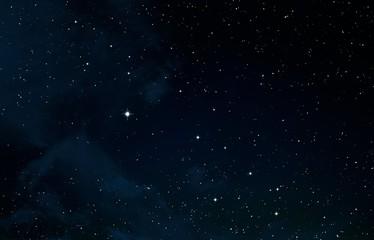 Deep space texture backdrop.
