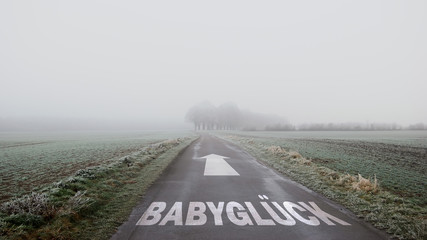 Schild 402 - Babyglück