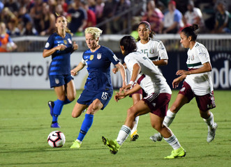 Soccer: 2018 CONCACAF Women's Championship-USA at Mexico