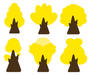 Vector of trees collection .