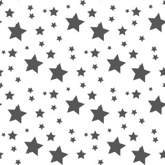 Star seamless pattern. Cute kids star seamless pattern. Seamless patter with stars. Star background. Babies fashion. Vector illustration,