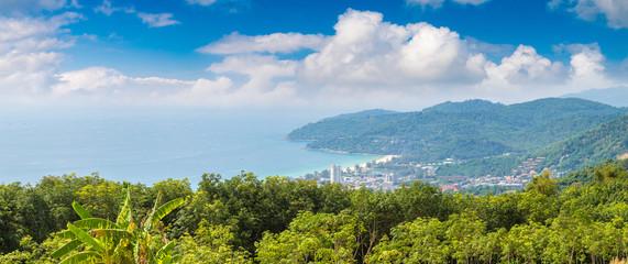 Panoramic view of  Phuket