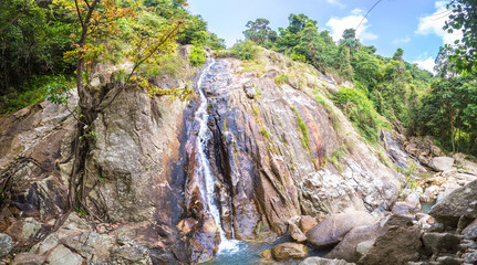Namuang waterfall on Koh Samui