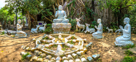 Buddhist temple in Danang, Vietnam