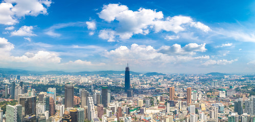 Panoramic view of Kuala Lumpur