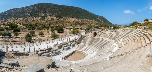 Wall Mural - Amphitheater (Coliseum) in Ephesus