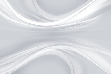 Design perspective trendy element. White modern bright waves art. Speed effect background. Abstract creative graphic illustration.