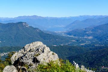 Lago Maggiore dalla vetta del Campo dei Fiori