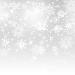 Abstract Winter Holiday Background