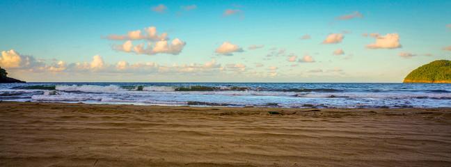 Beautiful beach of blue sky