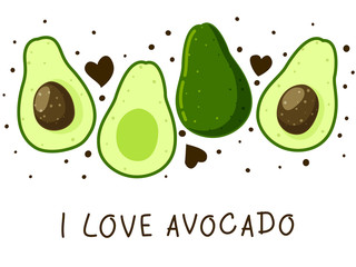 Avocado border for Your design