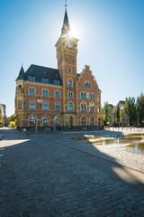 Hafenamt in Köln Rheinau