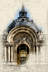 Entrance to Petit Palais