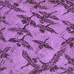 鶴模様の和紙