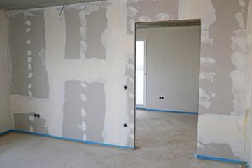 Obraz Trockenbau, Trockenausbau - fototapety do salonu